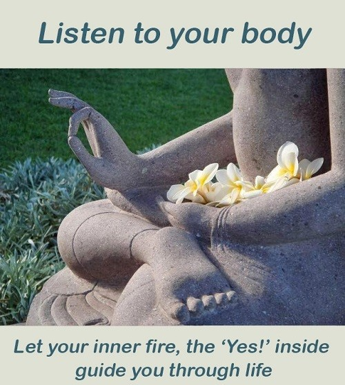 Listen to your body - deep peace transformation