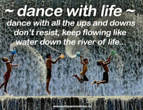 Dance with life's ups and downs